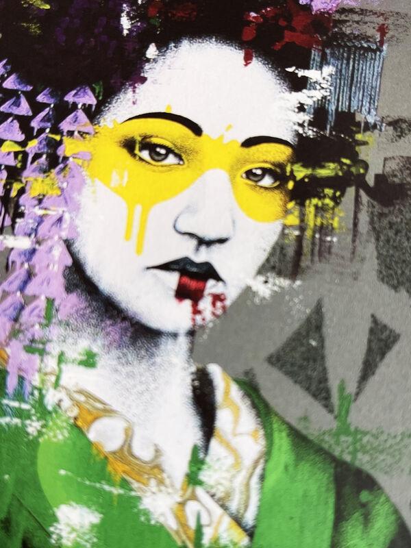 Fin Dac, ''Ryosii'', 2021, Print, Screen print in colors on 300gsm Somerset fine art paper., Signari Gallery