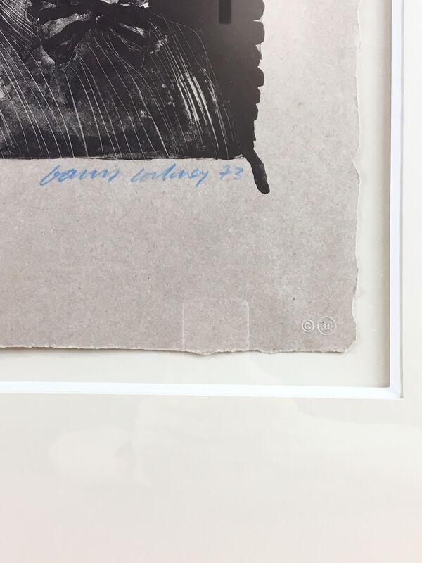 David Hockney, 'Henry '73 (framed)', 1973, Print, Lithograph on Goodman buff handmade paper, Petersburg Press