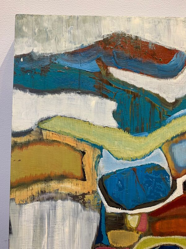 Chase Langford, 'Emerald Bay 4', 2014, Painting, Oil on wood panel, Susan Eley Fine Art