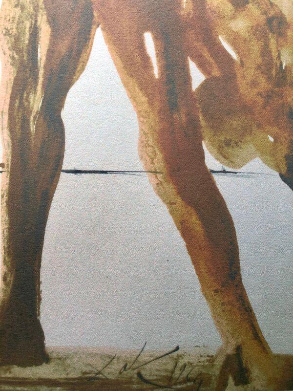 Salvador Dalí, 'The Prodigal Son 'Filius Prodigus', Biblia Sacra', 1967, Print, Original Lithograph, Inviere Gallery