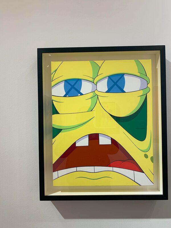 KAWS, 'KAWSBOB', 2008, Painting, Acrylic on canvas, Visioner