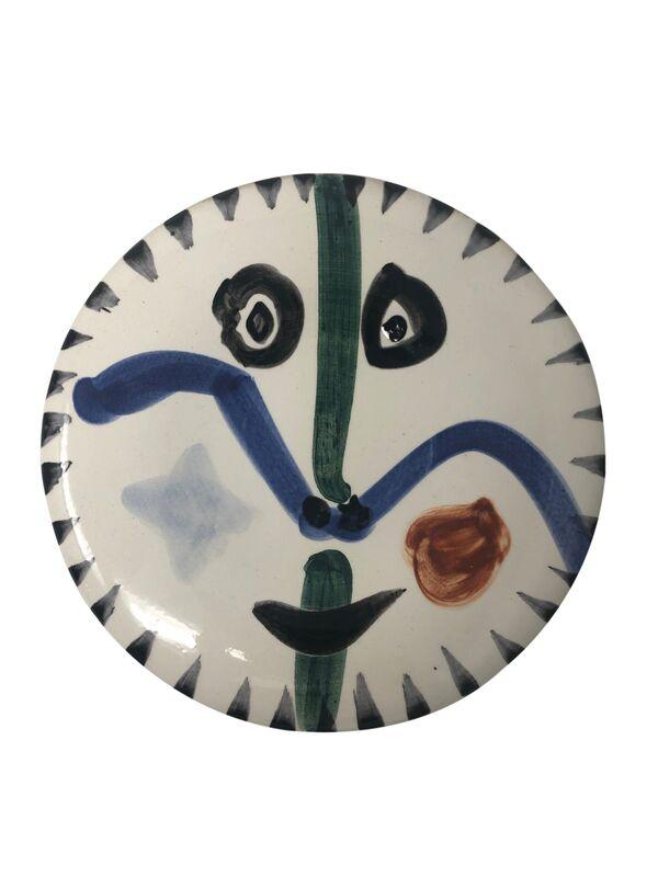 Pablo Picasso, 'Visage no. 111 (A.R. 476)', 1963, Design/Decorative Art, Ceramic, Hirth Fine Art