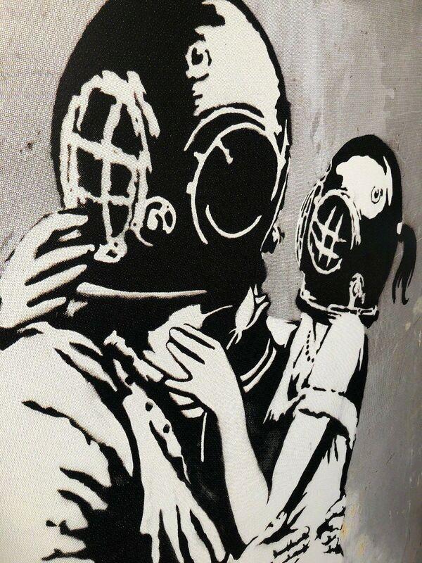 "Banksy, 'BLUR ""THINK TANK"" PROMOTIONAL POSTER HYPER RARE', 2003, Ephemera or Merchandise, Paper, Arts Limited"