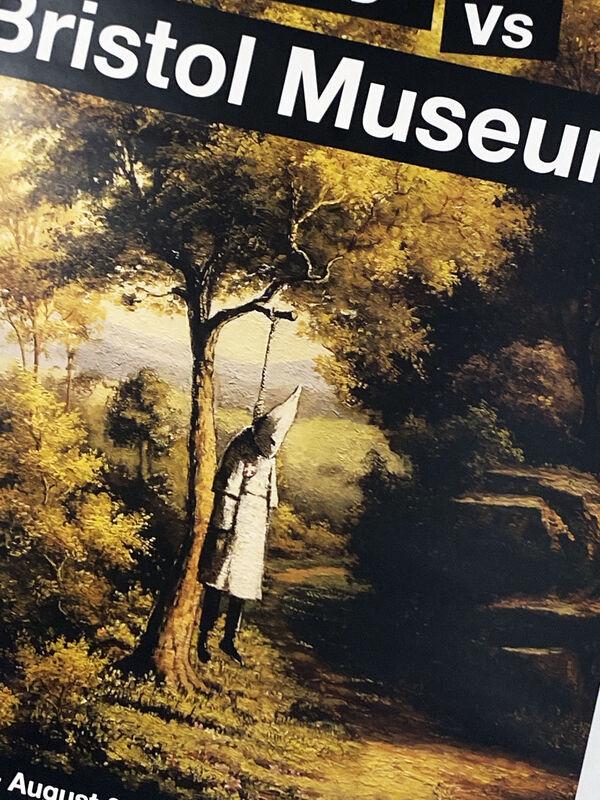 Banksy, ''Banksy vs. Bristol Museum: Klansman'', 2009, Ephemera or Merchandise, Offset lithograph on white satin paper., Signari Gallery