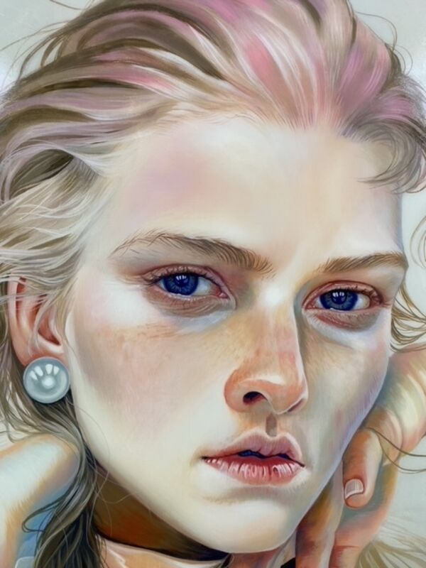 Martine Johanna, 'Awake', 2017, Painting, Acrylic and resin on wood panel, Massey Klein Gallery
