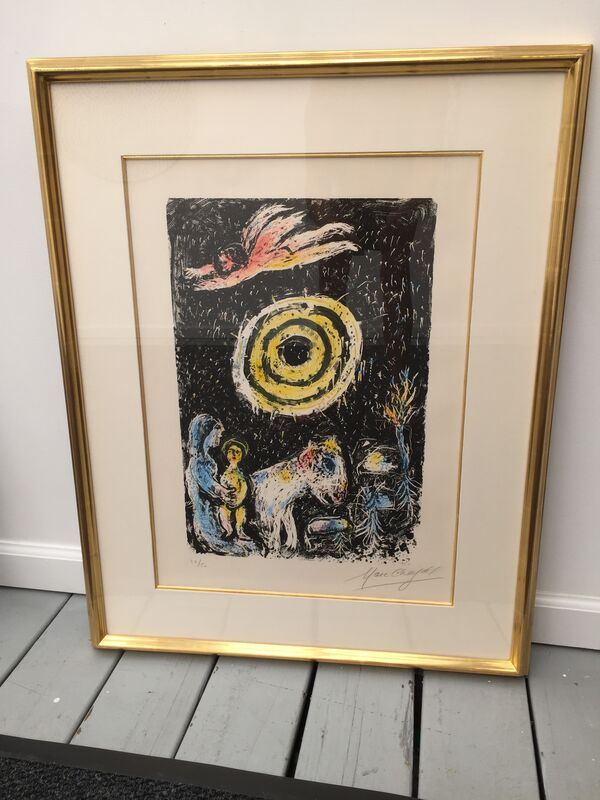 Marc Chagall, 'Winter Sun', 1974, Print, Lithograph, Galerie Lareuse