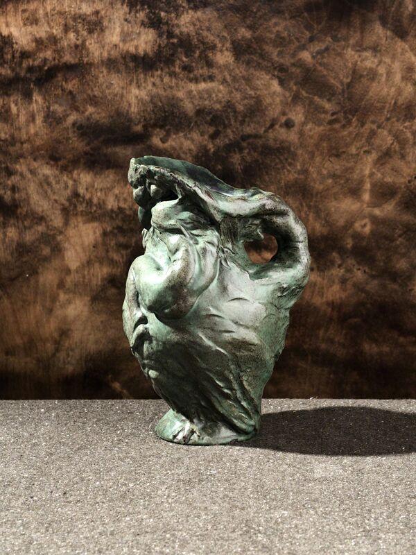 Pierre Adrien Dalpayrat, 'La Nuit Plus', 1894, Design/Decorative Art, Stoneware, Jason Jacques Gallery