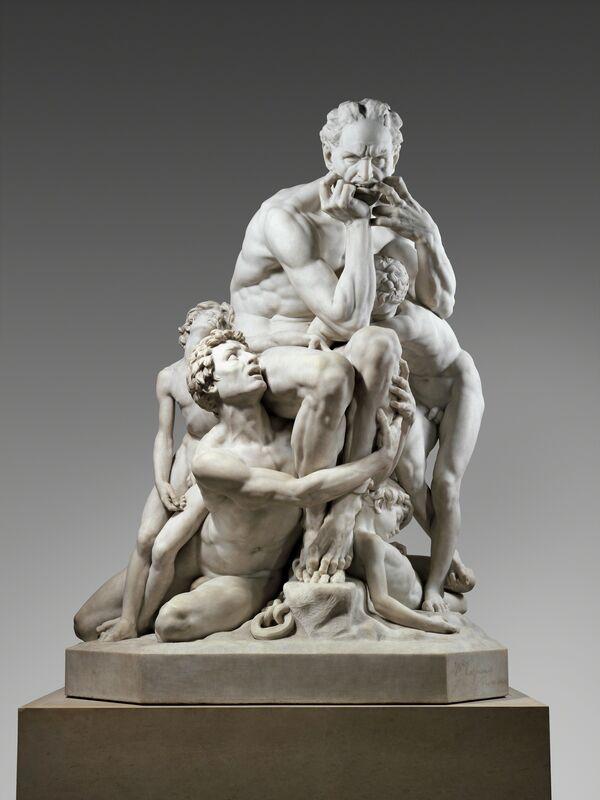 Jean-Baptiste Carpeaux, 'Ugolino and His Sons', 1865–1867, Sculpture, Saint-Béat marble, The Metropolitan Museum of Art