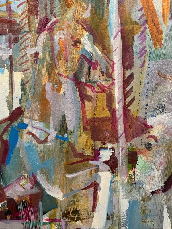 Katharine Le Hardy, 'Dreamland', 2022, Painting, Oil on canvas, Candida Stevens Gallery