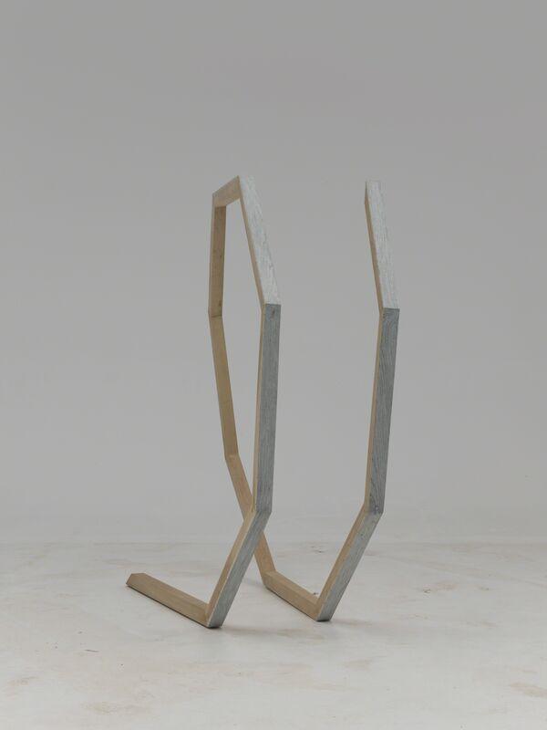 Hu Xiaoyuan 胡晓媛, 'Untitled 2016 No. 1 无题 2016 No. 1 ', 2015, Sculpture, Wood, wood lacquer 木、木器漆, Beijing Commune