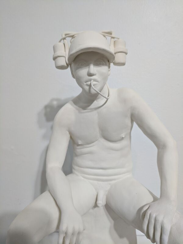 Meredith Morabito, 'King Bro', 2019, Sculpture, Low Fired Clay, Emerge Gallery NY