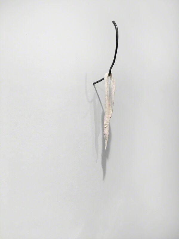 Julianne Swartz, 'Drip Drawing (long)', 2017, Installation, Porcelain, steel, Josée Bienvenu