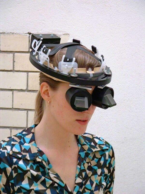 Carsten Höller, 'Upside-Down Goggles', 1991-2001, Sculpture, Acrylic Glass, aluminium, steel, polyethylene, nylon, leather, Air de Paris