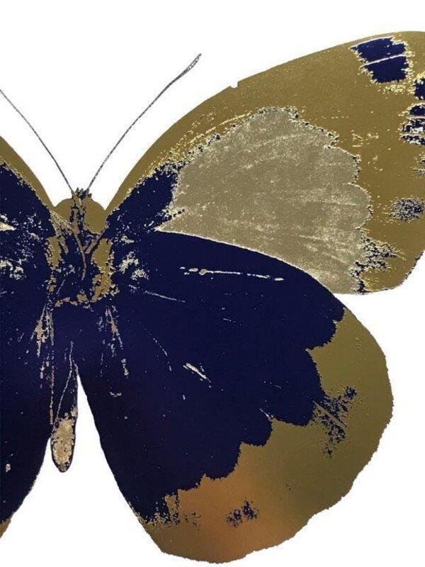 Damien Hirst, 'The Souls II - Westminster Blue Oriental Gold Cool Gold', 2010, Print, Foilblock print, Kunsthuis Amsterdam