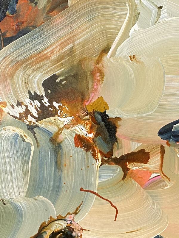 Janna Watson, 'Elephant Ear in the Room', 2021, Painting, Acrylic, gouache, oil pastel, ink on Baltic birch panel, Kenise Barnes Fine Art