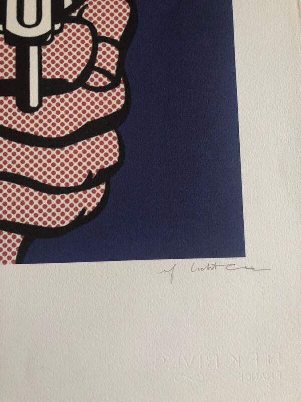 Roy Lichtenstein, 'Smoking Gun', 1968, Print, Serigraph, Leviton Fine Art
