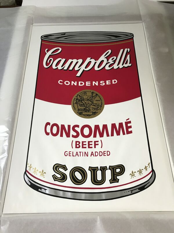 Andy Warhol, 'Campbell's Soup I, Consomme (Beef) F&S II.52', 1968, Print, Screenprint in colors on wove paper, Fine Art Mia