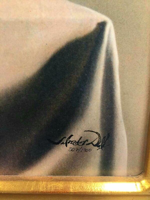 Salvador Dalí, 'Couple aux têtes pleines de nuages', ca. 1990, Print, 2 granolithographs on wood, Samhart Gallery
