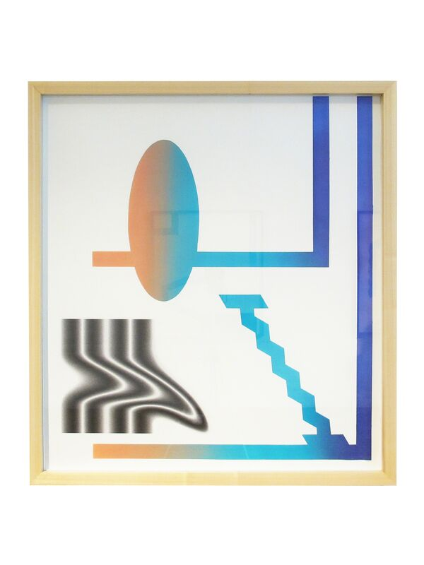 Jesse Moretti, 'Flatland Reflected in a Pool', 2013, Print, Unique acrylic print (framed), Patrick Parrish Gallery
