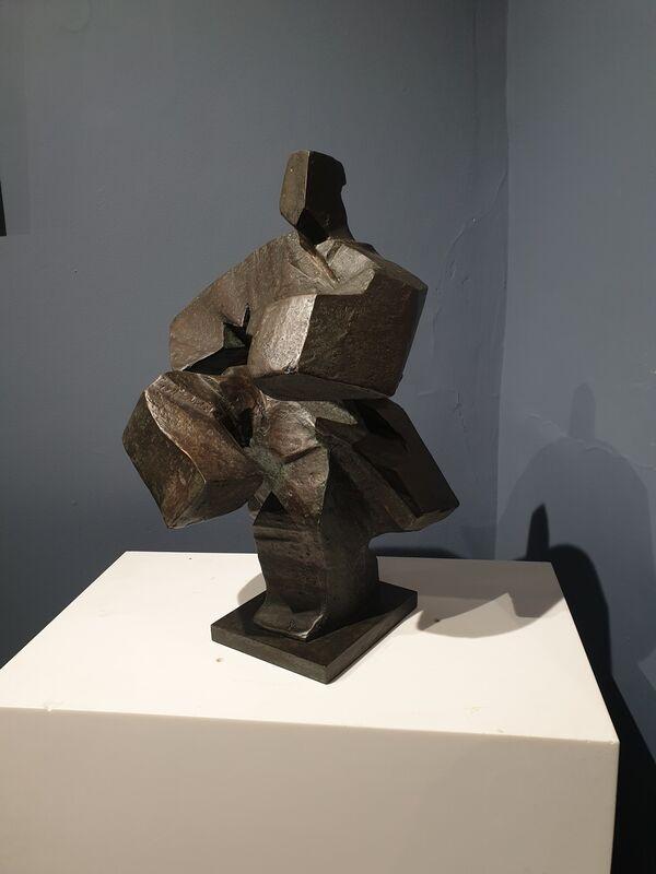 Ju Ming 朱銘, 'Tai Chi Series', 1991, Sculpture, Bronze, Tanya Baxter Contemporary