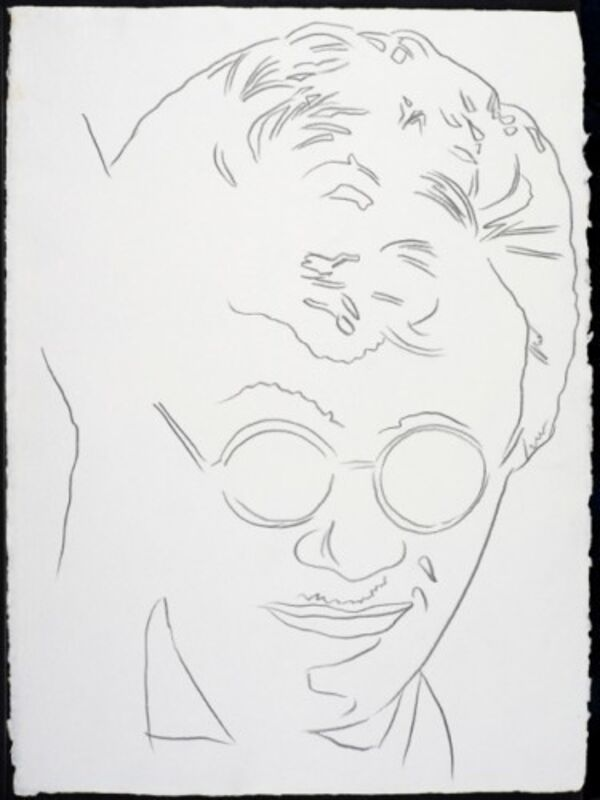 Andy Warhol, 'Rats and Star Band Member #2', 1983, Drawing, Collage or other Work on Paper, Graphite on paper, Composition.Gallery