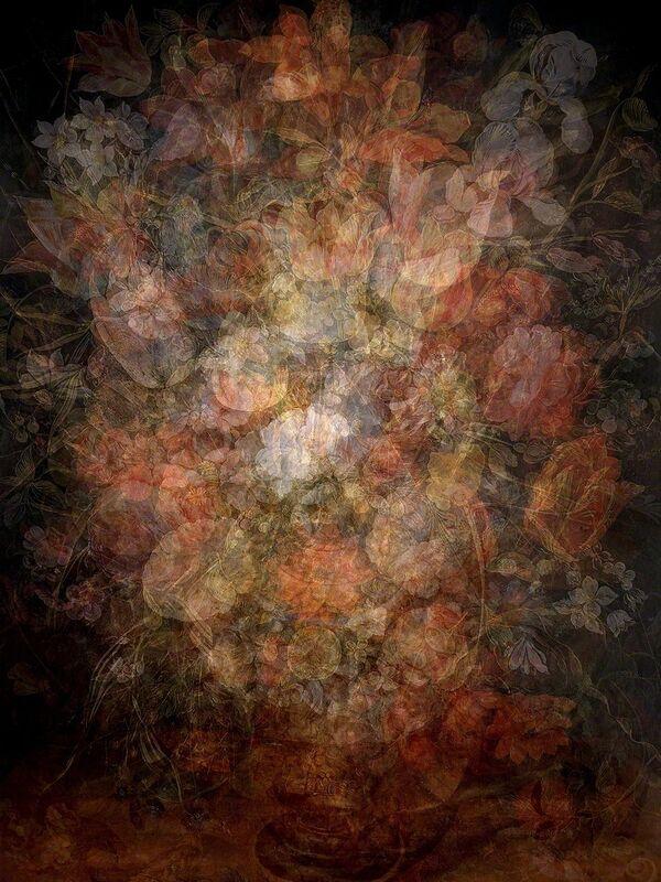 Kim Boske, 'Tableaux des fleurs', 2015, Photography, C-print in artist frame, AANDO FINE ART