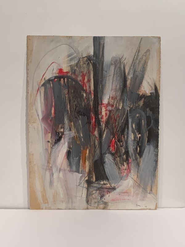 Cleve Gray, 'Untitled', 1962, Painting, Acrylic on paper, Anders Wahlstedt Fine Art
