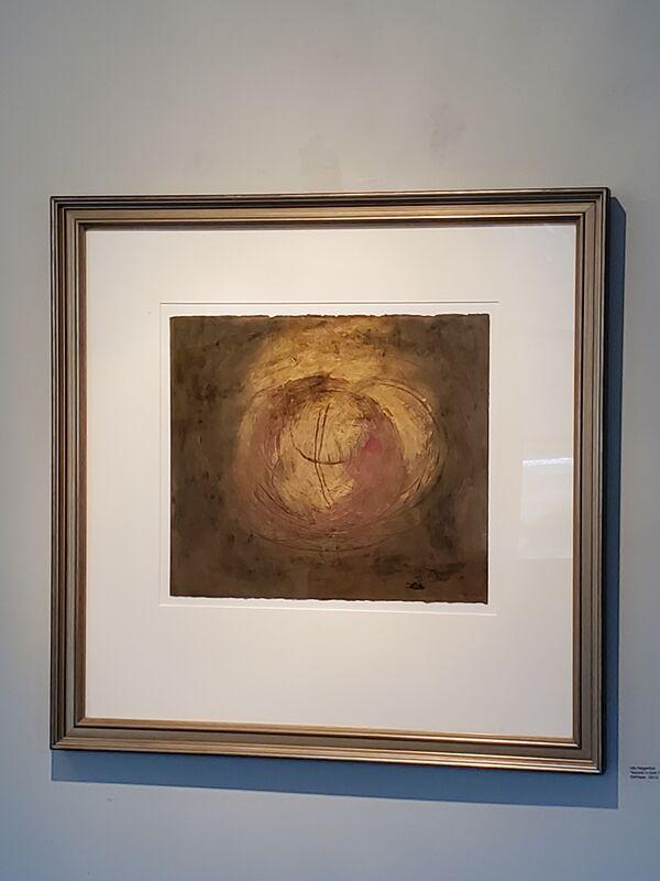 Ulla Neigenfind, 'Deep Secrets in Gold I', 2012, Painting, Oil Stick/Paper, Miller White Fine Arts