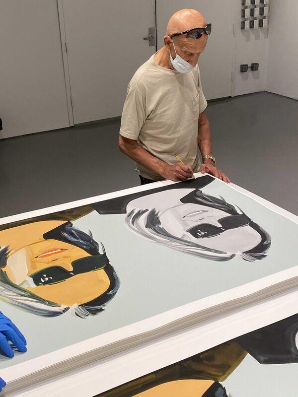Alex Katz, 'ADA X 2', 2020, Print, Archival pigment ink on Innova Etching Cotton Rag 315 gsm fine art paper, Corridor Contemporary