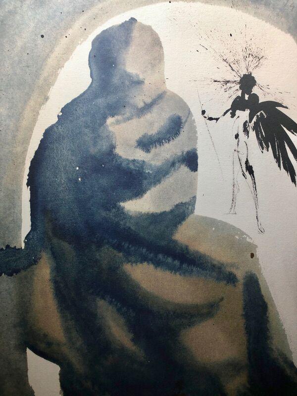 Salvador Dalí, 'O Lord, You Have Deceived Me, 'Seduxisti Me, Domine', Biblia Sacra', 1967, Print, Original Lithograph, Inviere Gallery