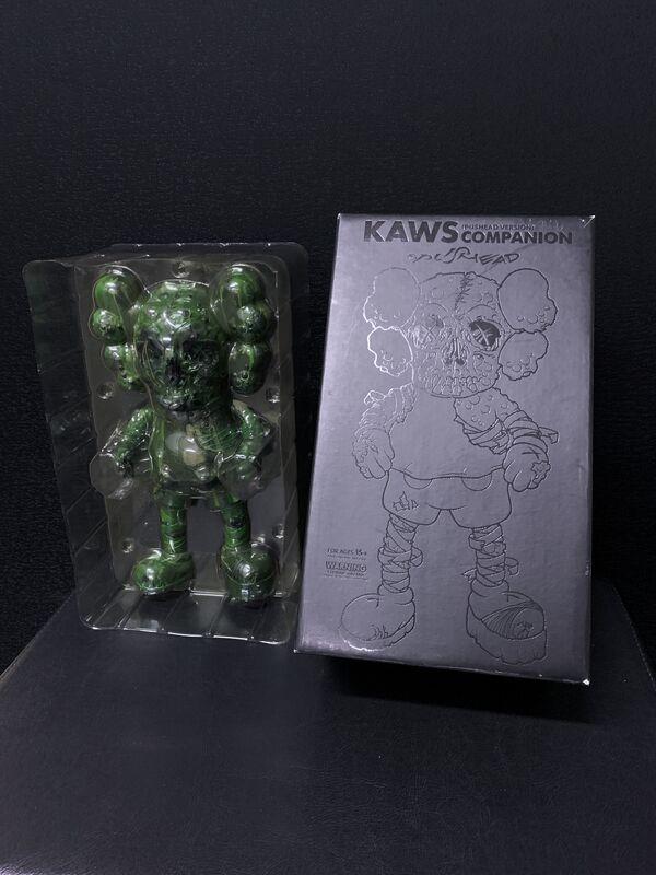 KAWS, 'KAWS X Pushead Companion (Green)', 2005, Ephemera or Merchandise, Painted cast vinyl, Artsy x Tate Ward
