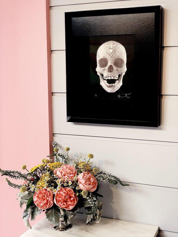 Damien Hirst, ''For The Love Of  God' Diamond Dust Skull', 2007, Print, Silkscreen, Diamond dust, Arton Contemporary