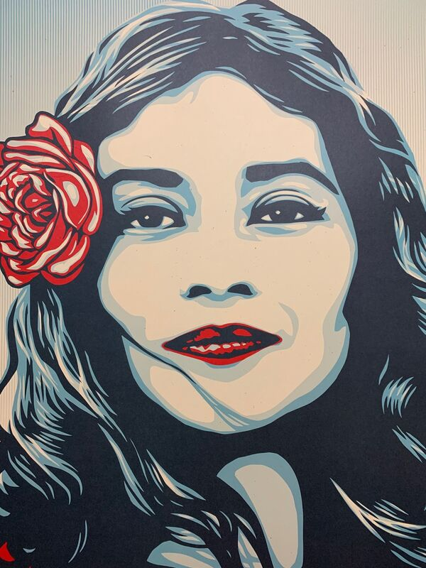 """Shepard Fairey, 'Defend Dignity 2017 """"We The People"""" Signed Edition ', 2017, Print, Lithograph with Thick Rich Vibrant Inks, New Union Gallery"""