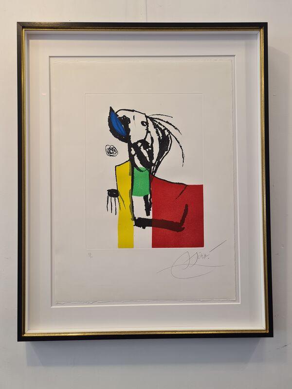 Joan Miró, 'Chanteur des rues IV', 1981, Print, Etching and aquatint, Galerie Raphael
