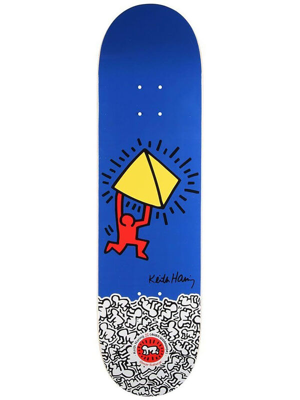 Keith Haring, 'Keith Haring Skateboard Deck ', 2012, Design/Decorative Art, Screen-print on Maple Wood Skateboard Deck, Lot 180