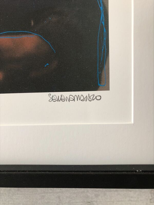 Serena Maisto, 'BASQUIAT TRIPTYCH PROJECT ', 2020, Print, Glicée print on bright white paper with serigraph in two colors, Artrust