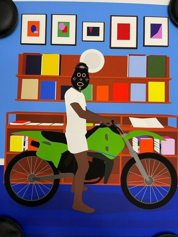 Dennis Osadebe, 'Enjoy Yourself', 2021, Print, Screen Print, One Gallery
