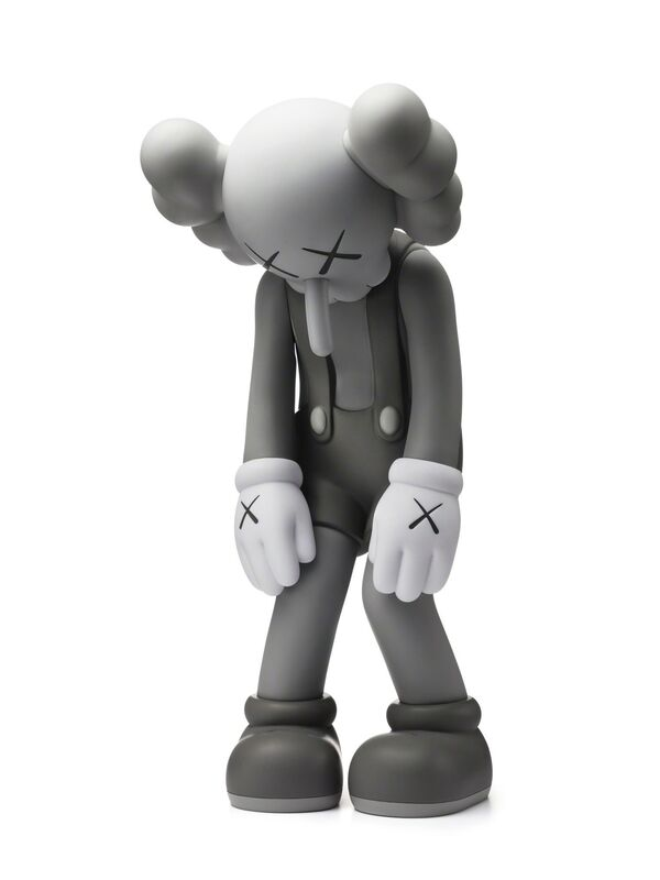 KAWS, 'Small Lie (Open Edition) Gray', 2017, Sculpture, Vinyl, Paint, Dope! Gallery