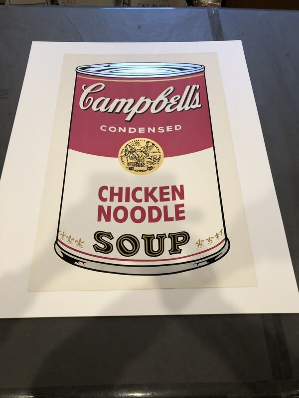 Andy Warhol, 'Campbell's Soup I Chicken Noodle F&S II.45', 1968, Print, Screenprint in colors on wove paper, Fine Art Mia