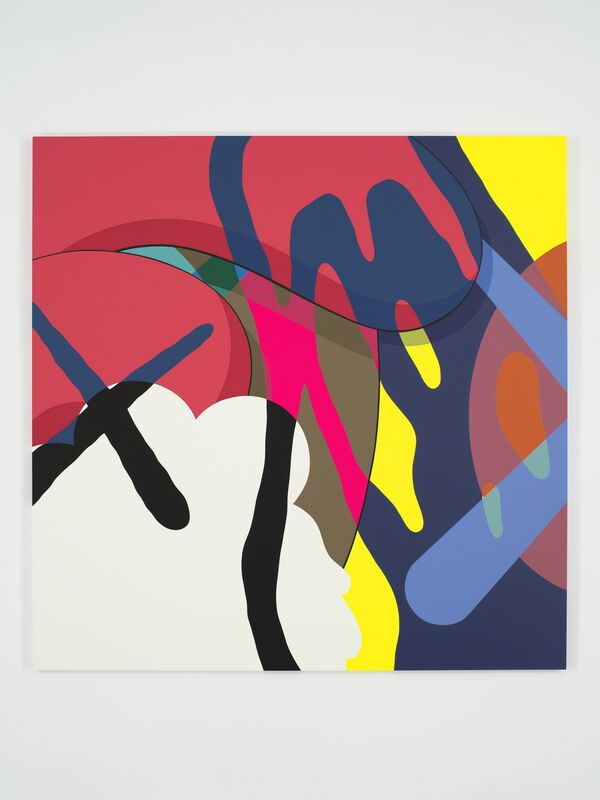 KAWS, 'NYT', 2016, Painting, Acrylic on canvas, Modern Art Museum of Fort Worth