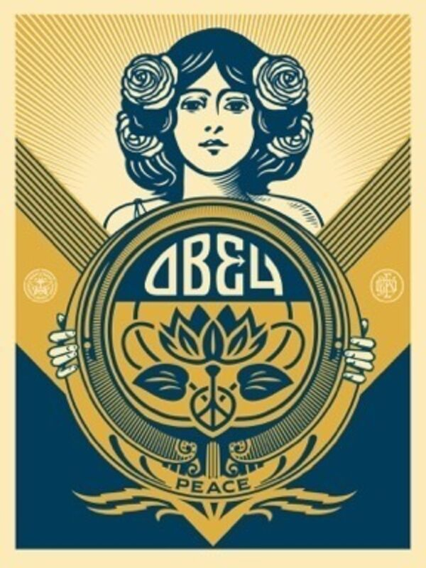 Shepard Fairey, 'Obey Holiday Print', 2016, Print, Screenprint, Art for ACLU Benefit Auction