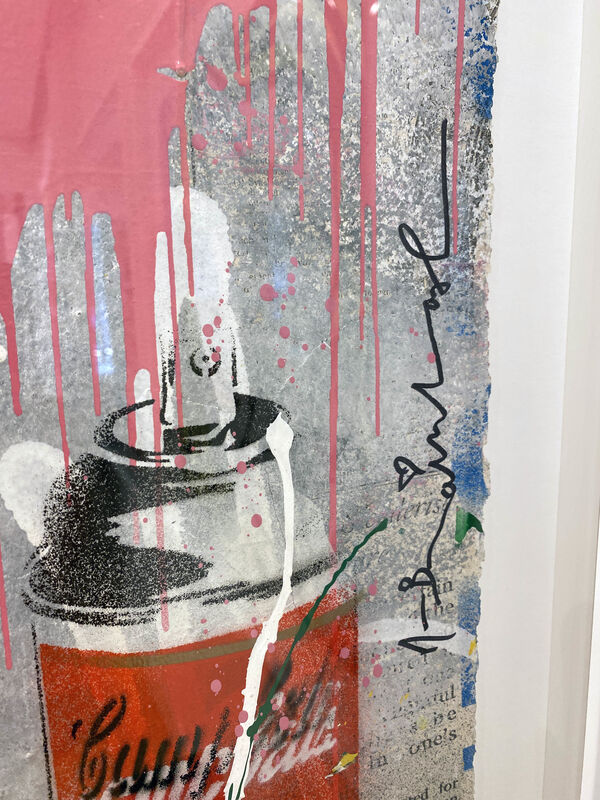 Mr. Brainwash, 'Chaplin', 2019, Mixed Media, Stencil & mixed media on paper, DTR Modern Galleries