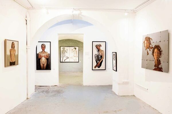 Face | Time, installation view