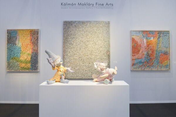 Kalman Maklary Fine Arts at Art Paris 2016, installation view