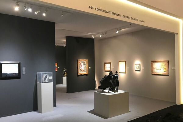 Connaught Brown at TEFAF Maastricht 2019, installation view