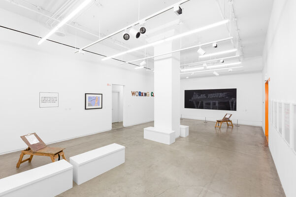 Drawn To Language, installation view
