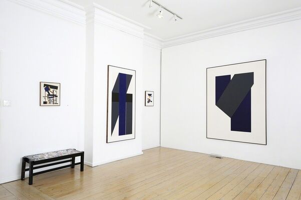 George Johnson 90 70 30, installation view