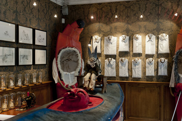 Bizarro 2016 - Staged beasts and sacred monsters, installation view