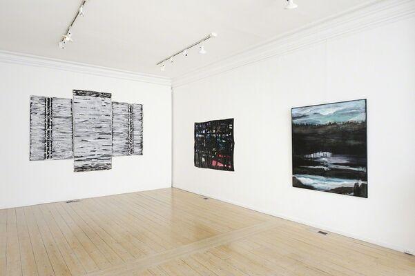 Sam Schoenbaum: displaced narratives, installation view