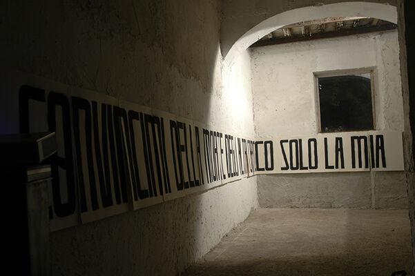 Fabio Mauri - Cielo Vicino, installation view